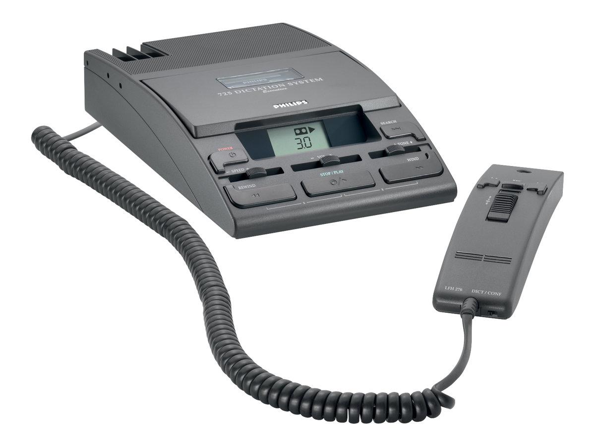 Philips Desktop 725 - Minikassetten-Rekorder/-Transcriber - 600 mW
