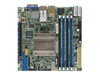 SUPERMICRO X10SDV-16C-TLN4F - Motherboard - Mini-ITX - Intel Xeon D-1587 - USB 3.0 - 2 x 10 Gigabit LAN, 2 x Gigabit LAN