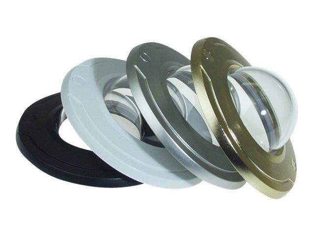 AXIS - Kamerakuppel - Schwarz, weiss, Silber, Gold, Klar-Transparent (Packung mit 10) - für AXIS M3011 Fixed Dome Network Camera