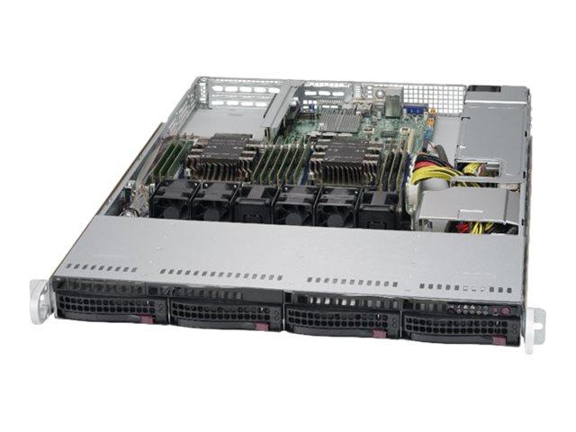 Supermicro SuperServer 6019P-WT - Server - Rack-Montage - 1U - zweiweg - RAM 0 GB