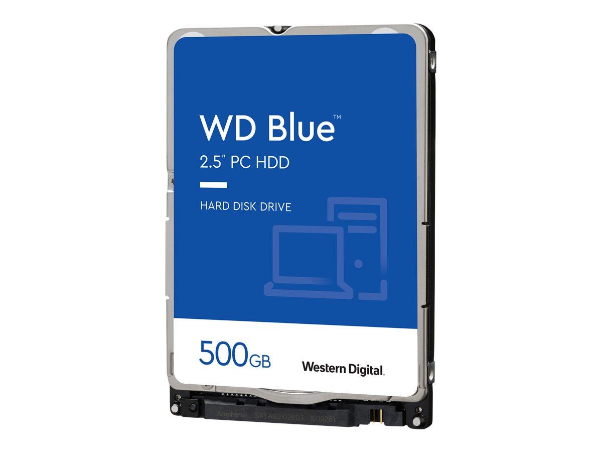 WD Blue WD5000LPCX - Festplatte - 500 GB - intern - 2.5