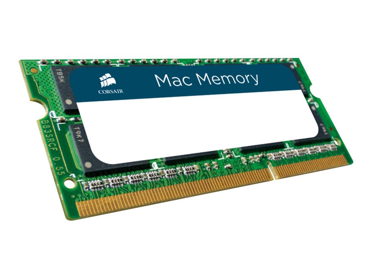 CORSAIR Mac Memory - DDR3 - 8 GB - SO DIMM 204-PIN - 1333 MHz / PC3-10600 - CL9