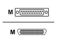 Lexmark - Parallelkabel - DB-25 (M) bis Centronics 36-Polig (M) - 3 m - für Lexmark MX511, MX910, X748, X862de 4, X950, XC9235,