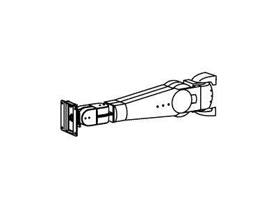 Ergotron ARMS 400 series - Befestigungskit (Gelenkarm) für Flat Panel - Grau - Wandmontage möglich - für Ergotron 400 Series