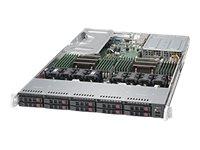 Supermicro SuperServer 1028U-TR4+ - Server - Rack-Montage - 1U - zweiweg - RAM 0 MB
