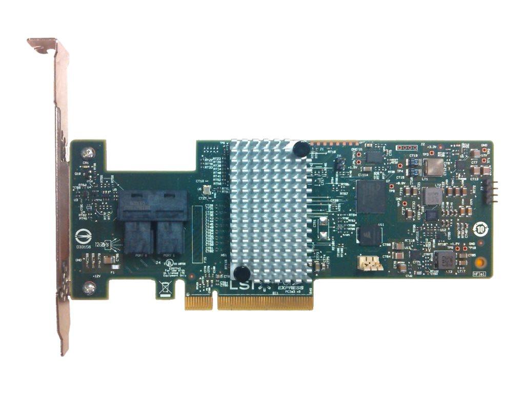 Lenovo ThinkServer RAID 520i Adapter - Speichercontroller (RAID) - 8 Sender/Kanal - SATA / SAS 12Gb/s Low-Profile - 1200 MBps -