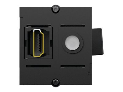 Bachmann Custom module - Modulares Faceplate-Snap-In - HDMI - Anthracite Black