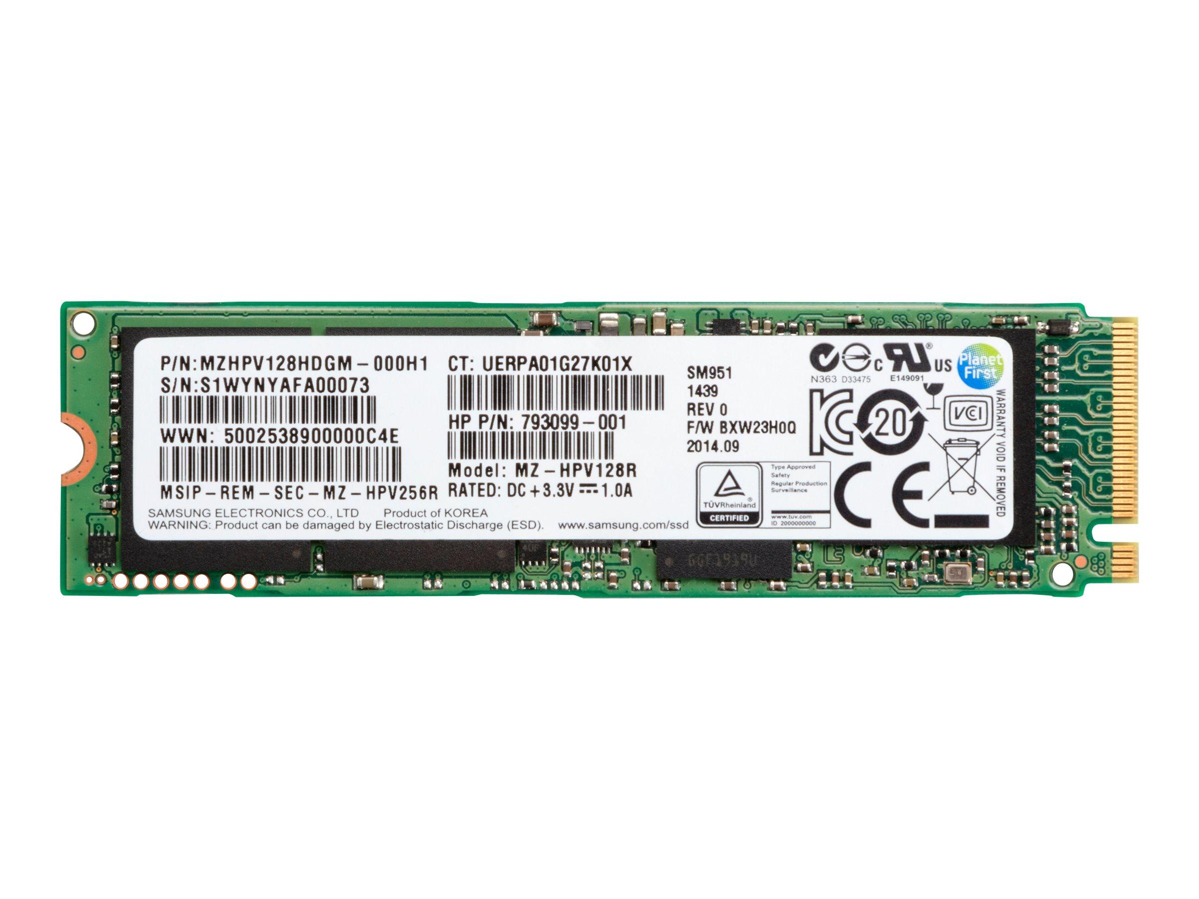 HP Z Turbo Drive Quad Pro module - Solid-State-Disk - 1 TB - intern - M.2 - M.2 Card