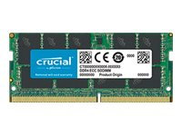 Crucial - DDR4 - 16 GB - SO DIMM 260-PIN - 2666 MHz / PC4-21300 - CL19
