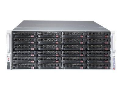 Supermicro SC847 BE1C4-R1K23LPB - Rack - einbaufähig - 4U - verbessertes, erweitertes ATX - SATA/SAS