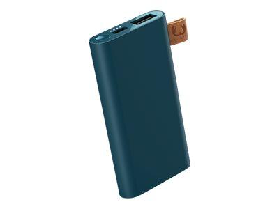 Fresh 'n Rebel Powerbank 3000 - Powerbank - 3000 mAh - 1 A - 2 Ausgabeanschlussstellen (USB, USB-C) - auf Kabel: USB-C