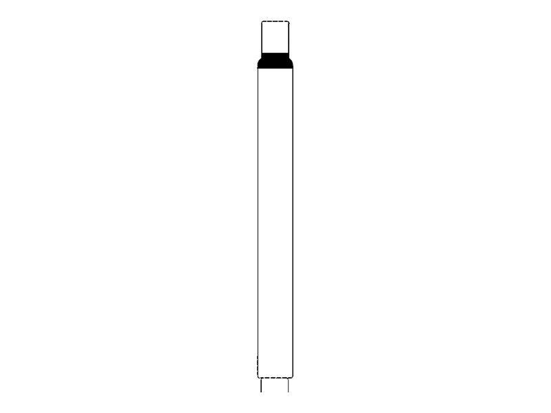Intermec IN-Band - 28.58 x 292.1 mm 500 Etikett(en) (2 Rolle(n) x 250) Armbandetiketten