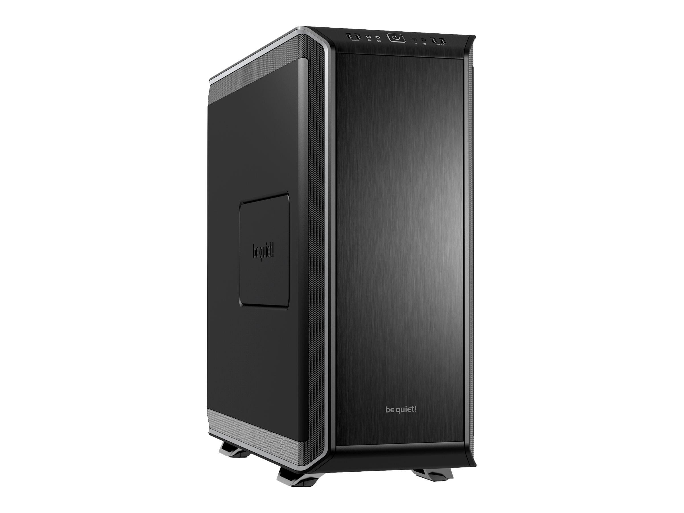 be quiet! Dark Base 900 - Tower - Erweitertes ATX - ohne Netzteil - Silber - USB/Audio