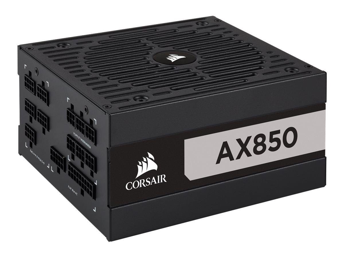 CORSAIR AX Series AX850 - Netzteil (intern) - ATX12V 2.4/ EPS12V - 80 PLUS Titanium - Wechselstrom 100-240 V - 850 Watt