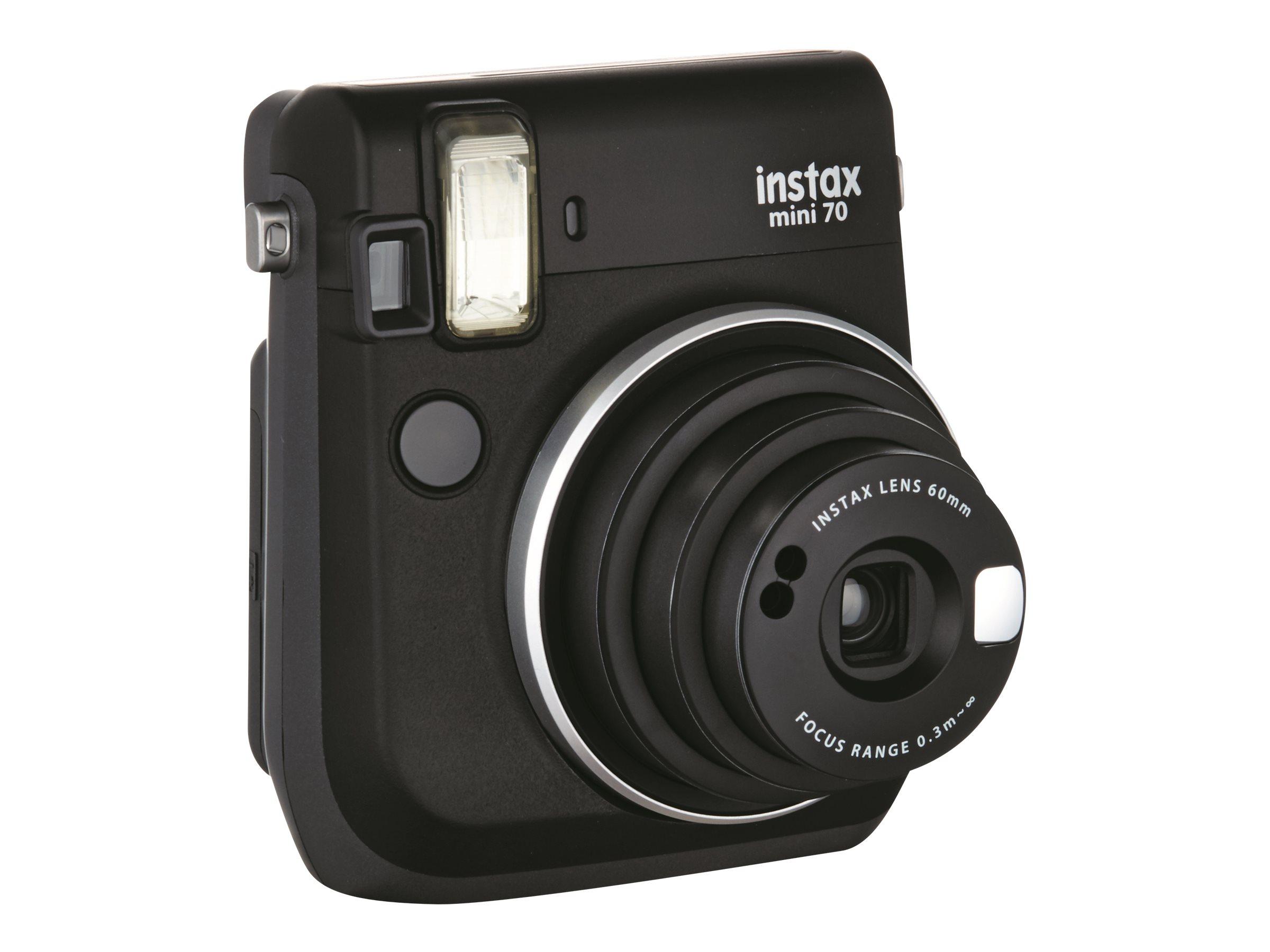 Fujifilm Instax Mini 70 - Instant Kamera - Objektiv: 60 mm schwarz