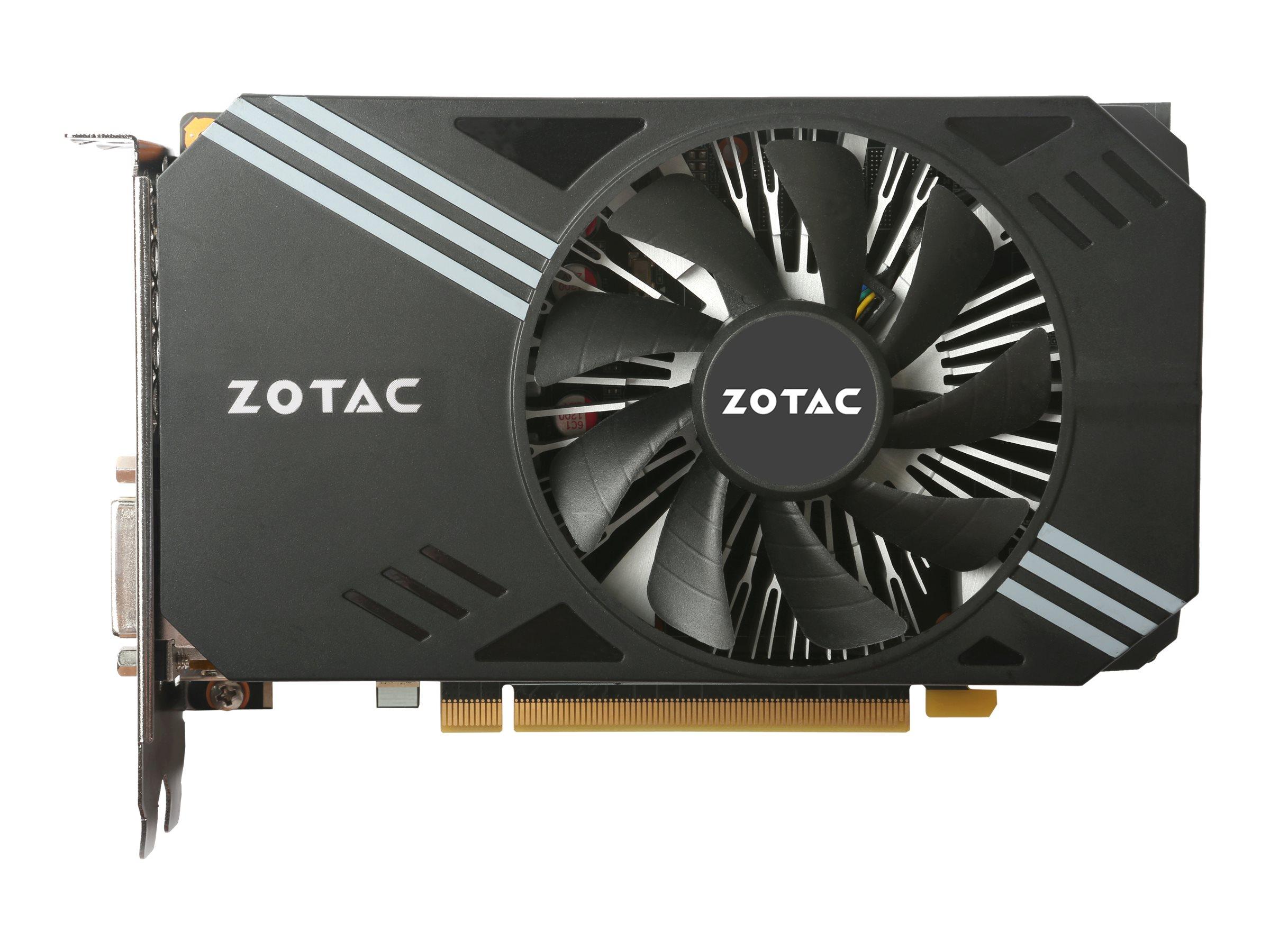 ZOTAC GeForce GTX 1060 - Grafikkarten - GF GTX 1060 - 3 GB GDDR5 - PCIe 3.0 x16 - DVI, HDMI, 3 x DisplayPort