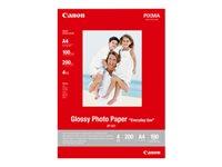 Canon GP-501 - Glänzend - 100 x 150 mm - 170 g/m² - 10 Blatt Fotopapier - für PIXMA iP5300, iP90, mini260, MP180, MP490, MP510,