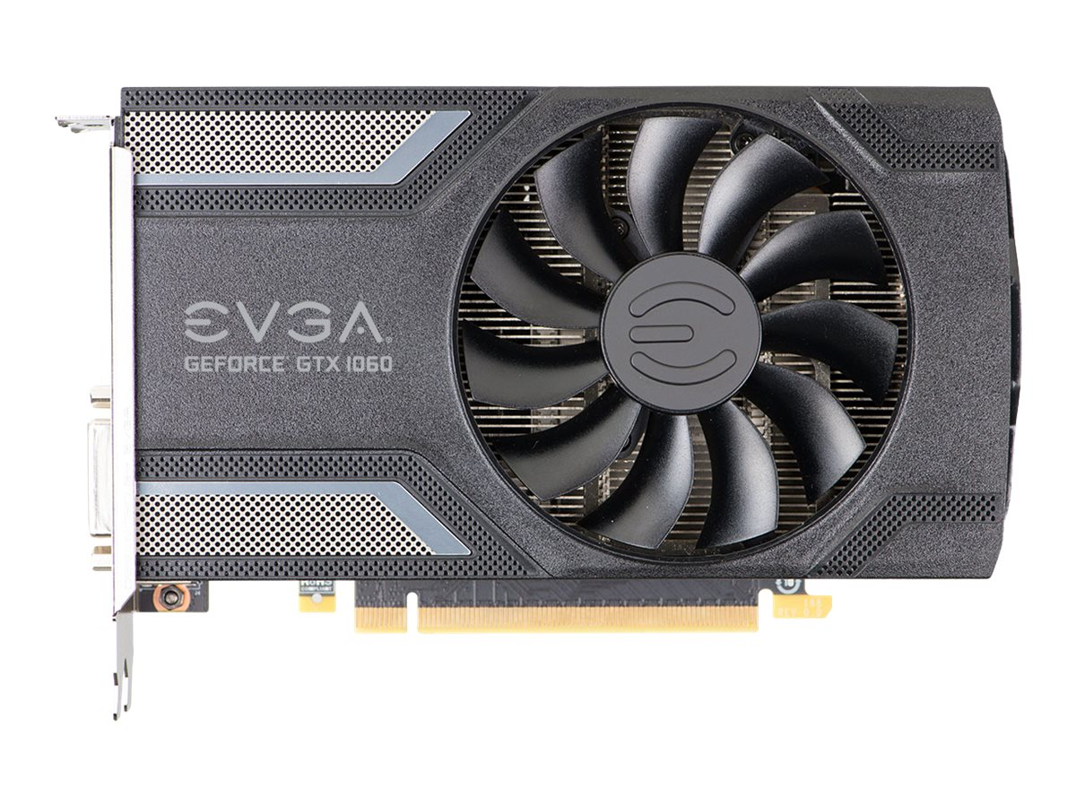 EVGA GeForce GTX 1060 SC Gaming - Grafikkarten - GF GTX 1060 - 3 GB GDDR5 - PCIe 3.0 x16 - DVI, HDMI, 3 x DisplayPort