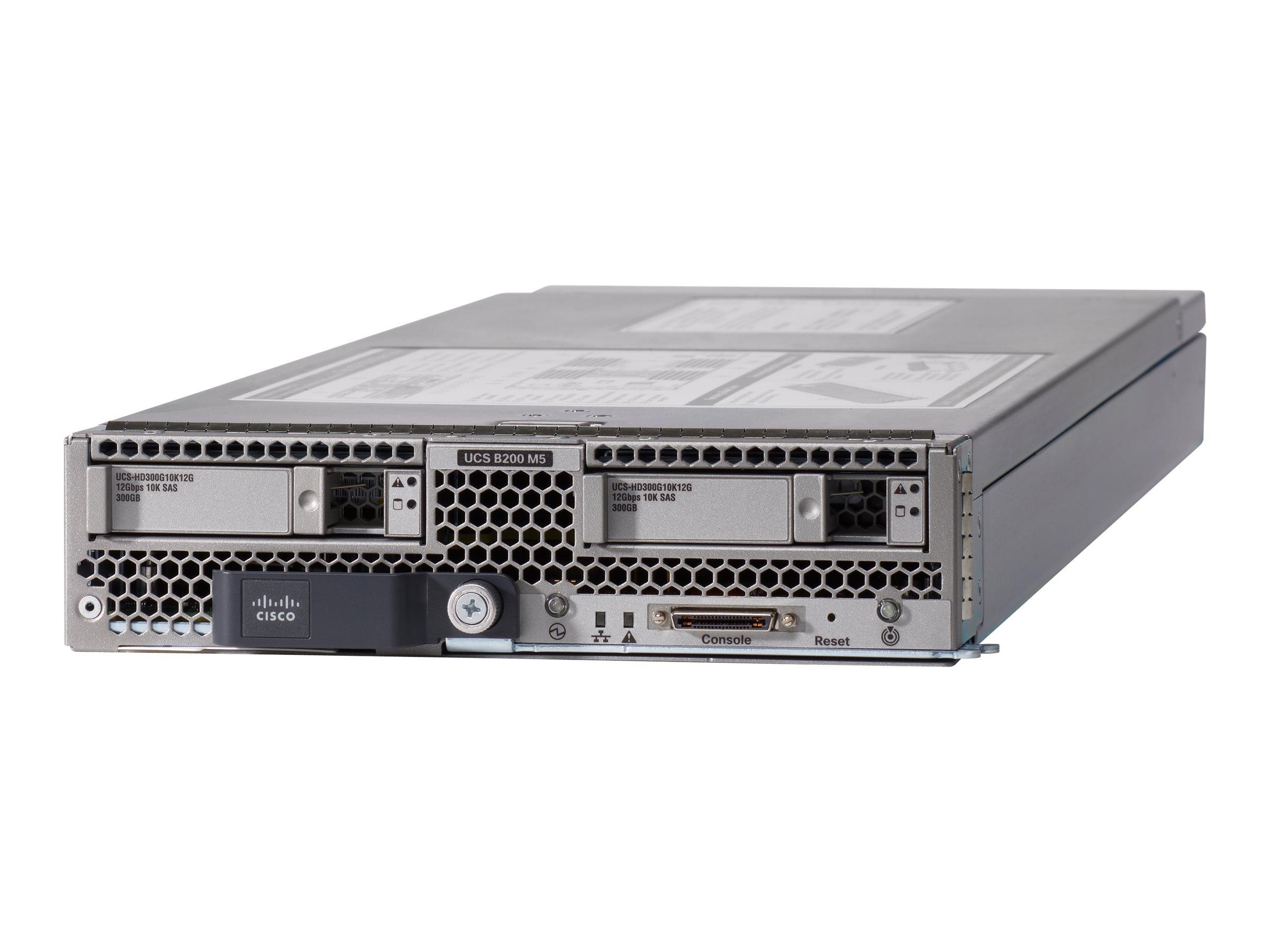 Cisco UCS B200 M5 Blade Server - Server - Blade - zweiweg - keine CPU - RAM 0 GB