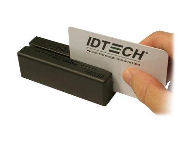 ID TECH MiniMag II - Magnetkartenleser (Spuren 1, 2 & 3) - USB, Tastaturweiche - Schwarz