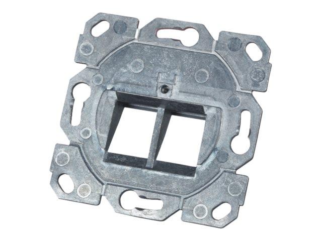 M-CAB Keystone frame - Ausgang - 2 Ports