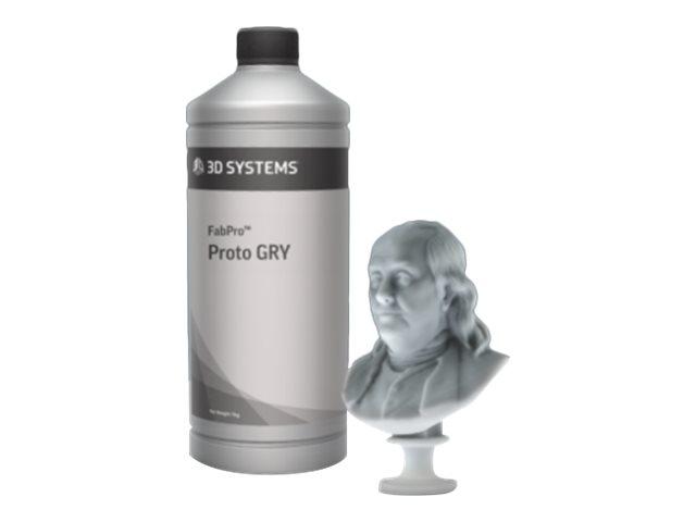 3D Systems FabPro Proto - Kunststoff - 1000 g - Grau - 1 kg - Grau