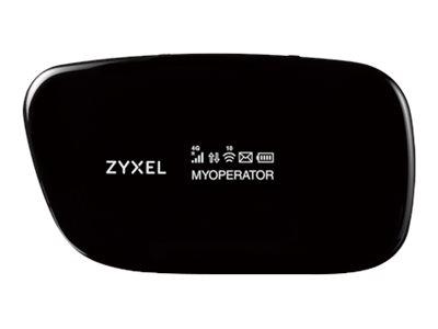Zyxel WAH7608 LTE Portable Router - Mobiler Hotspot - 4G LTE - 150 Mbps - 802.11b/g/n
