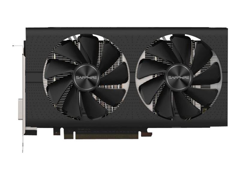 Sapphire Pulse Radeon RX 580 - Grafikkarten - Radeon RX 580 - 8 GB GDDR5 - PCIe 3.0 x16 - DVI, 2 x HDMI, 2 x DisplayPort