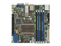 SUPERMICRO X10SDV-12C-TLN4F+ - Motherboard - Mini-ITX - Intel Xeon D-1557 - USB 3.0 - 2 x 10 Gigabit LAN, 2 x Gigabit LAN