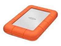 LaCie Rugged Mini - Festplatte - 1 TB - extern (tragbar) - USB 3.0 - 5400 rpm