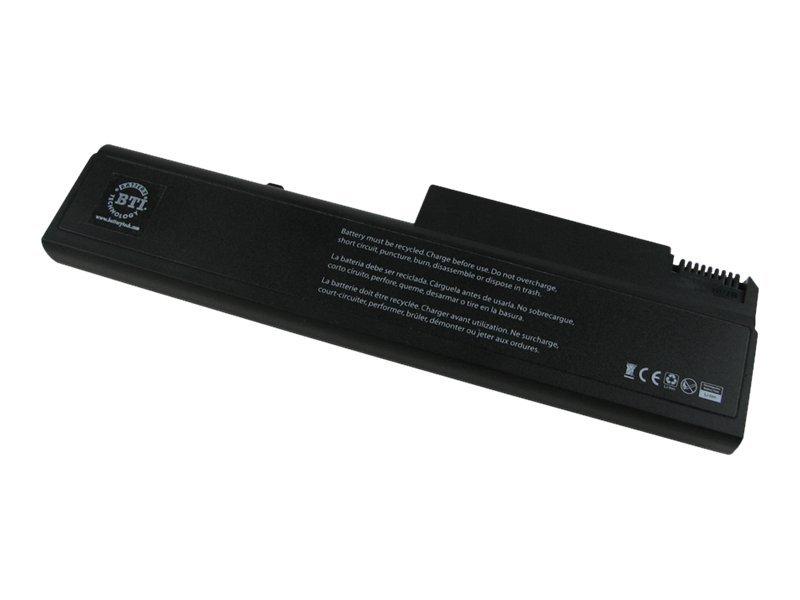BTI - Laptop-Batterie (gleichwertig mit: HP KU531AA, HP 486296-001) - 1 x Lithium-Ionen 6 Zellen 5200 mAh - Schwarz - für HP 653