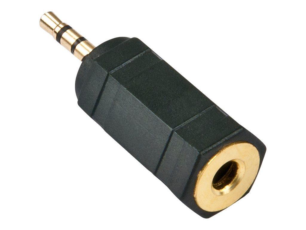 Lindy - Audio-Adapter - Stereo Mini-Klinkenstecker (W) bis Stereo Mikro-Stecker (M)