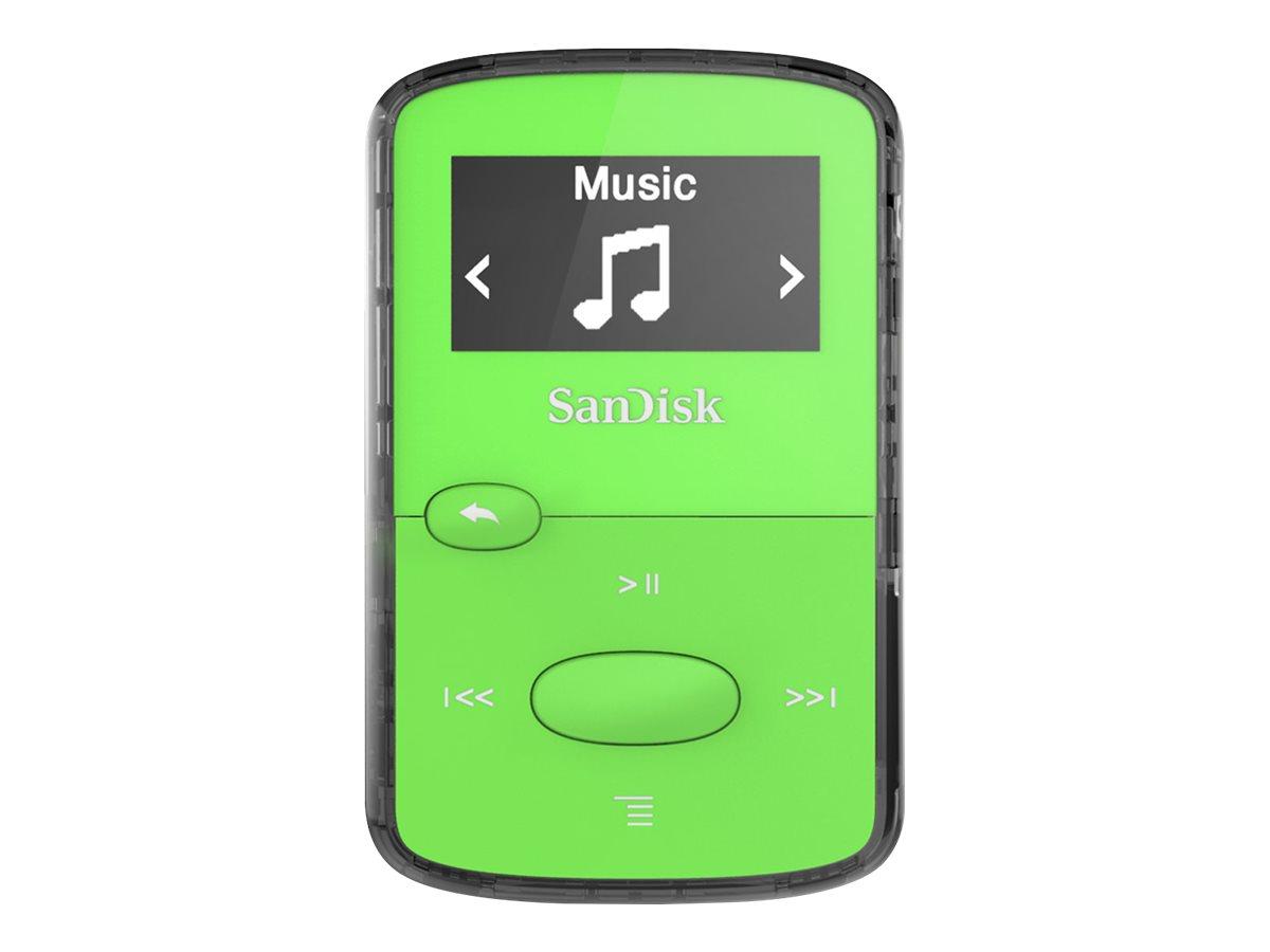 SanDisk Clip Jam - Digital Player - 8 GB - grün