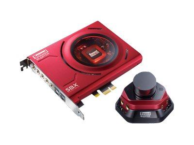 Creative Sound Blaster Zx - Soundkarte - 24-Bit - 192 kHz - 116 dB S/N - 5.1