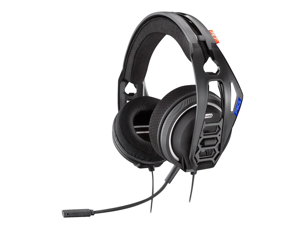 RIG 400HS - Headset - ohrumschliessend - kabelgebunden - für Sony PlayStation 4, Sony PlayStation 4 Pro, Sony PlayStation 4 Slim