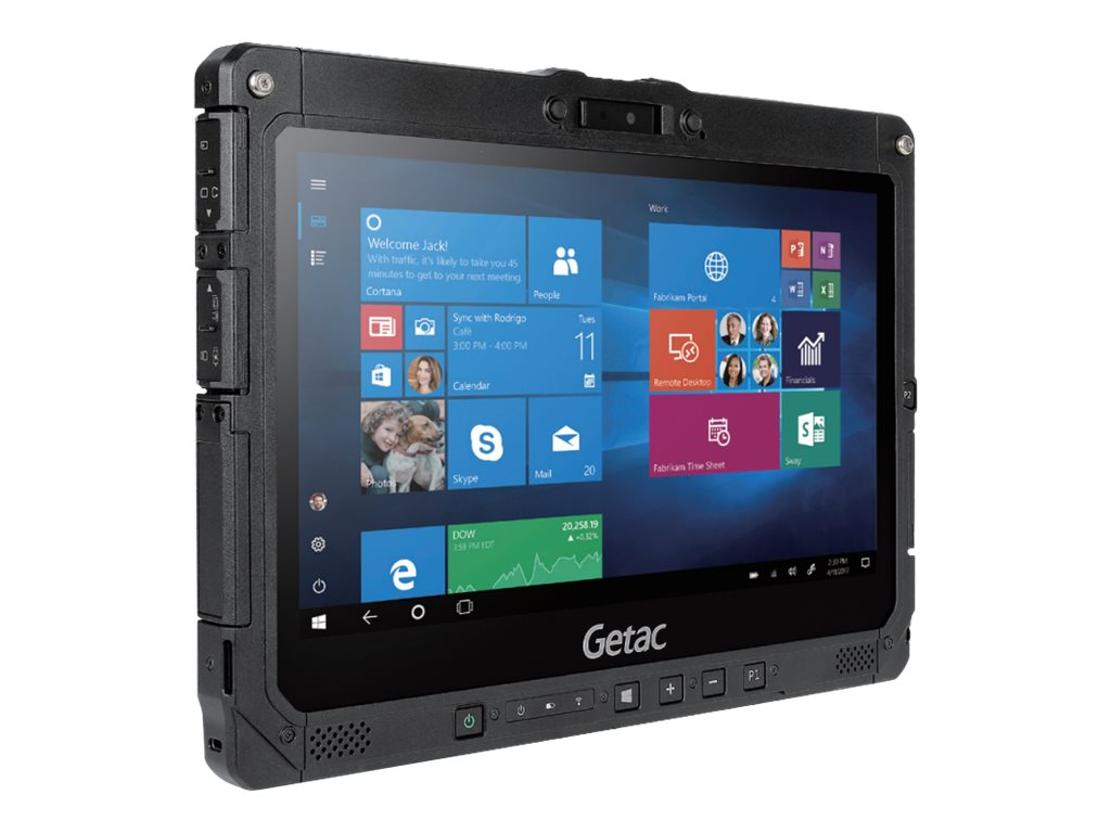 Getac K120 - Robust - Tablet - Core i5 8250U / 1.6 GHz - Win 10 Pro 64-Bit - 8 GB RAM