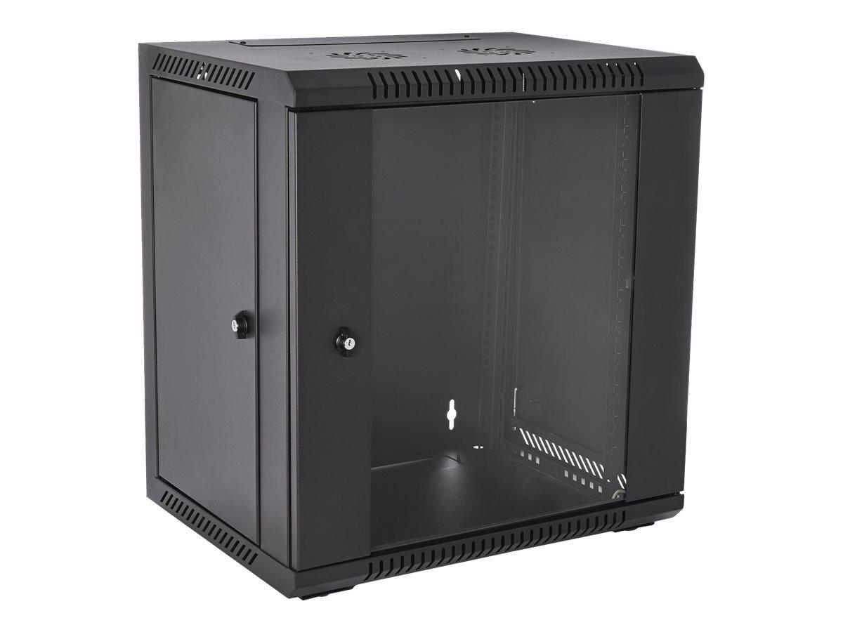 V7 RMWC12UG450-1E - Schrank - Netzwerkschrank - geeignet für Wandmontage - 12U