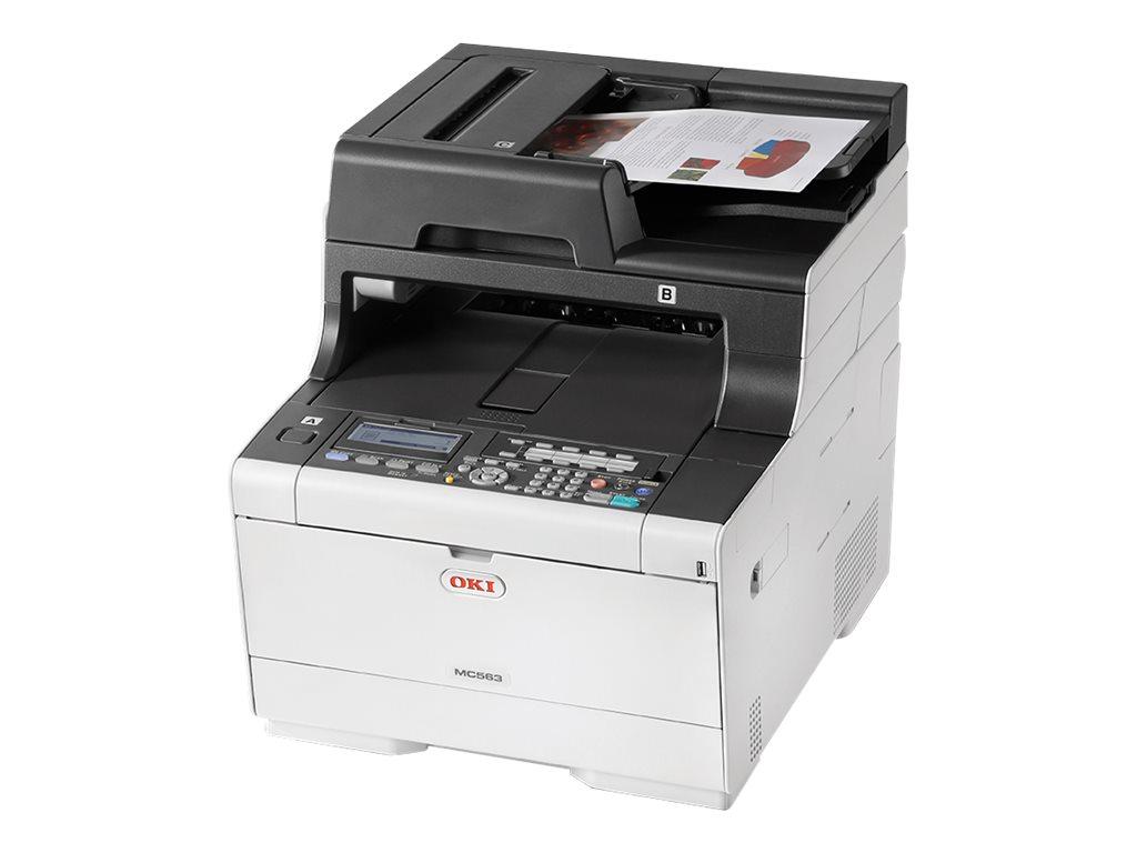 OKI MC563dn - Multifunktionsdrucker - Farbe - LED - A4 (210 x 297 mm) (Original) - A4 (Medien)