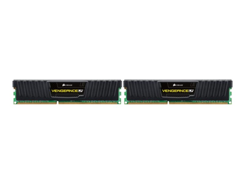 CORSAIR Vengeance - DDR3 - 16 GB: 2 x 8 GB - DIMM 240-PIN - 1600 MHz / PC3-12800 - CL10