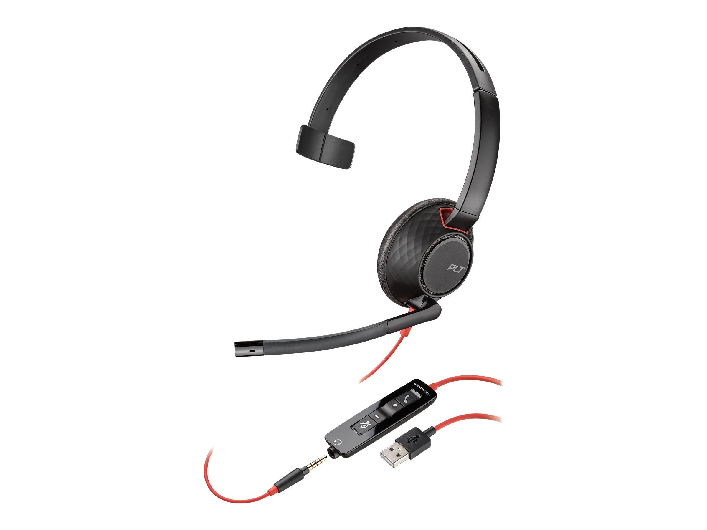 Poly - Plantronics Blackwire C5210 USB-A - 5200 Series - Headset - On-Ear - kabelgebunden