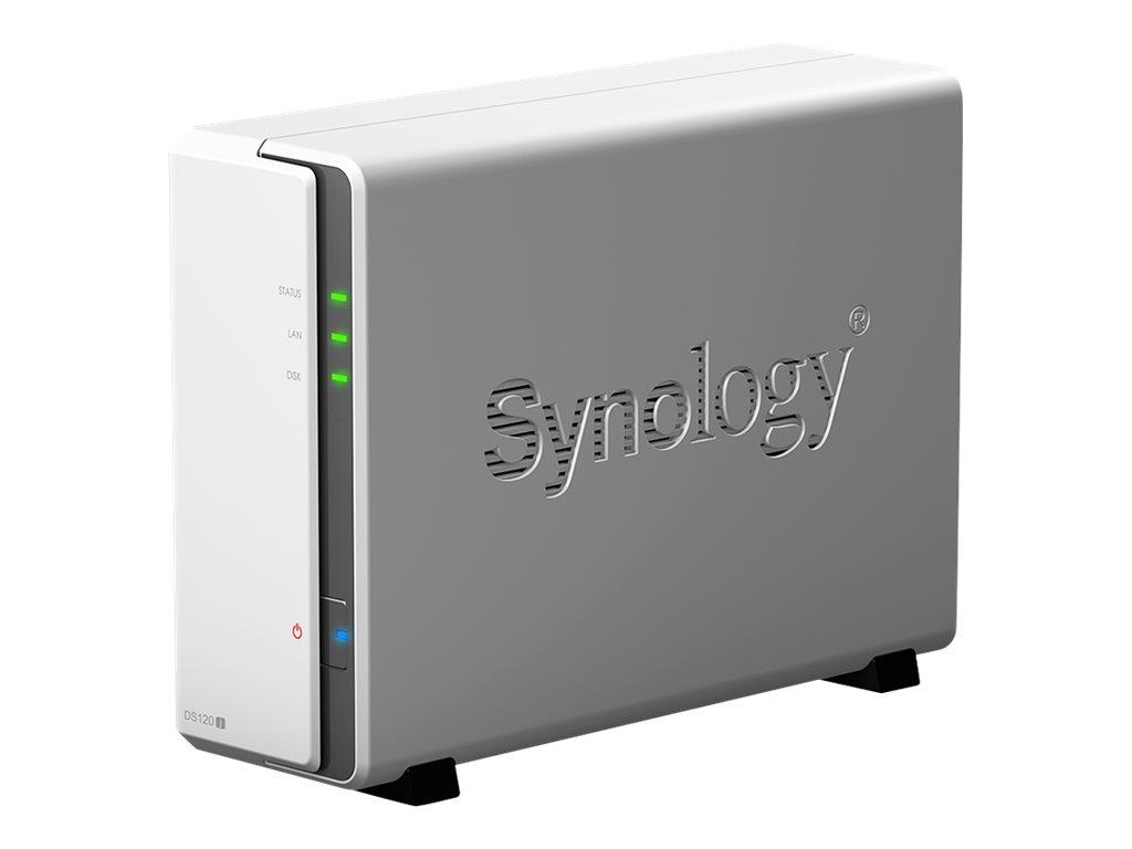 Synology Disk Station DS120J - Gerät für persönlichen Cloudspeicher - SATA 6Gb/s - RAM 512 MB - Gigabit Ethernet - iSCSI