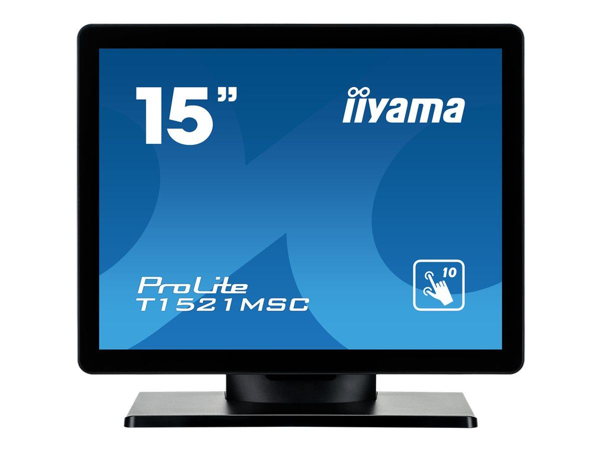 iiyama ProLite T1521MSC-B1 - LED-Monitor - 38.1 cm (15