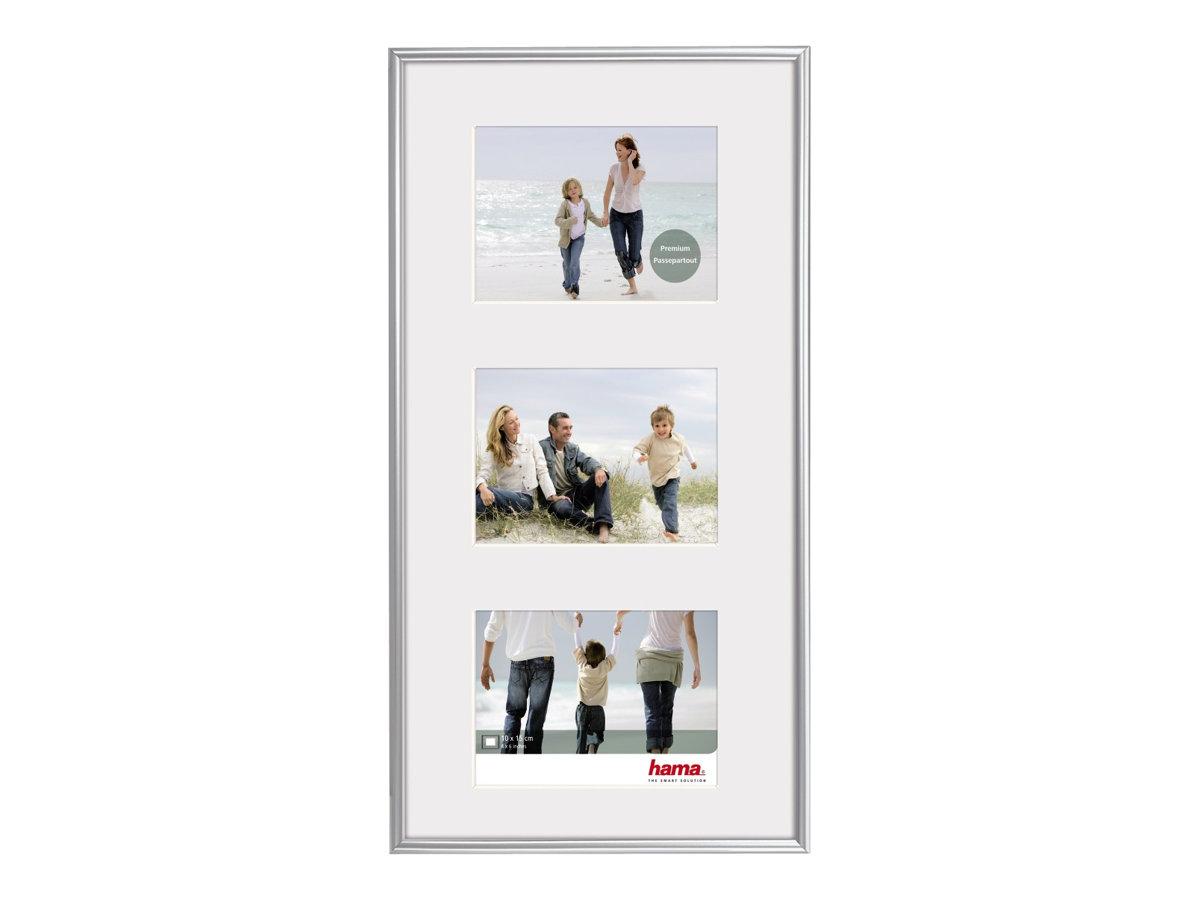 Hama Madrid - Fotorahmen - Konzipiert für: 3 x 4x6 in (10x15 cm) - Kunststoff - rechteckig