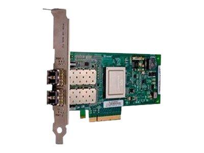 QLogic 2562 - Hostbus-Adapter - PCIe Low-Profile - 8Gb Fibre Channel x 2 - für PowerEdge C4130, FC430, FC830, R320, R420; PowerV