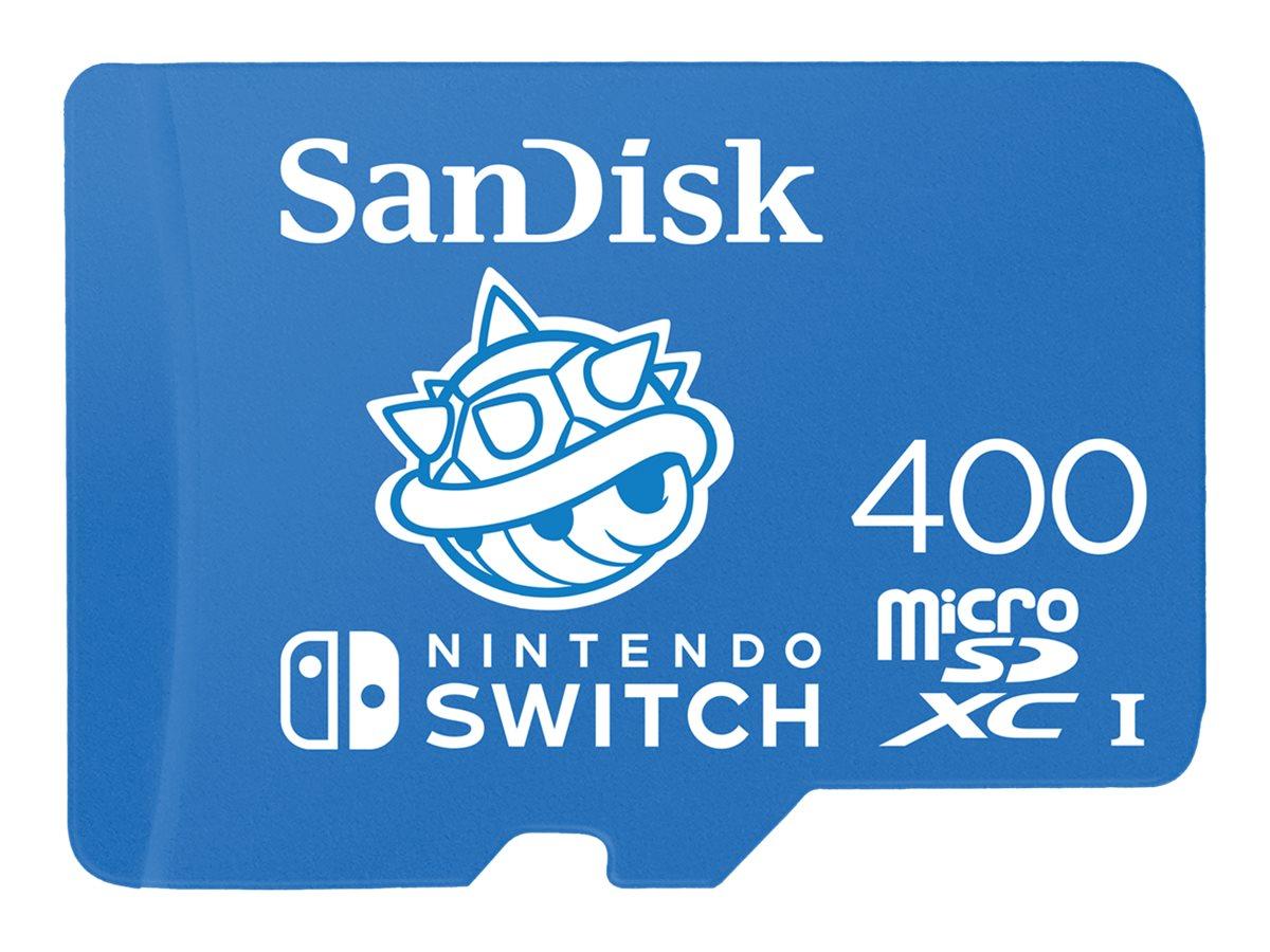 SanDisk Nintendo Switch - Flash-Speicherkarte - 400 GB - microSDXC UHS-I - für Nintendo Switch, Nintendo Switch Lite