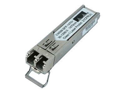 Cisco CWDM SFP - SFP (Mini-GBIC)-Transceiver-Modul - GigE, 2Gb Fibre Channel - CWDM - LC/PC Einzelmodus - 1470 nm