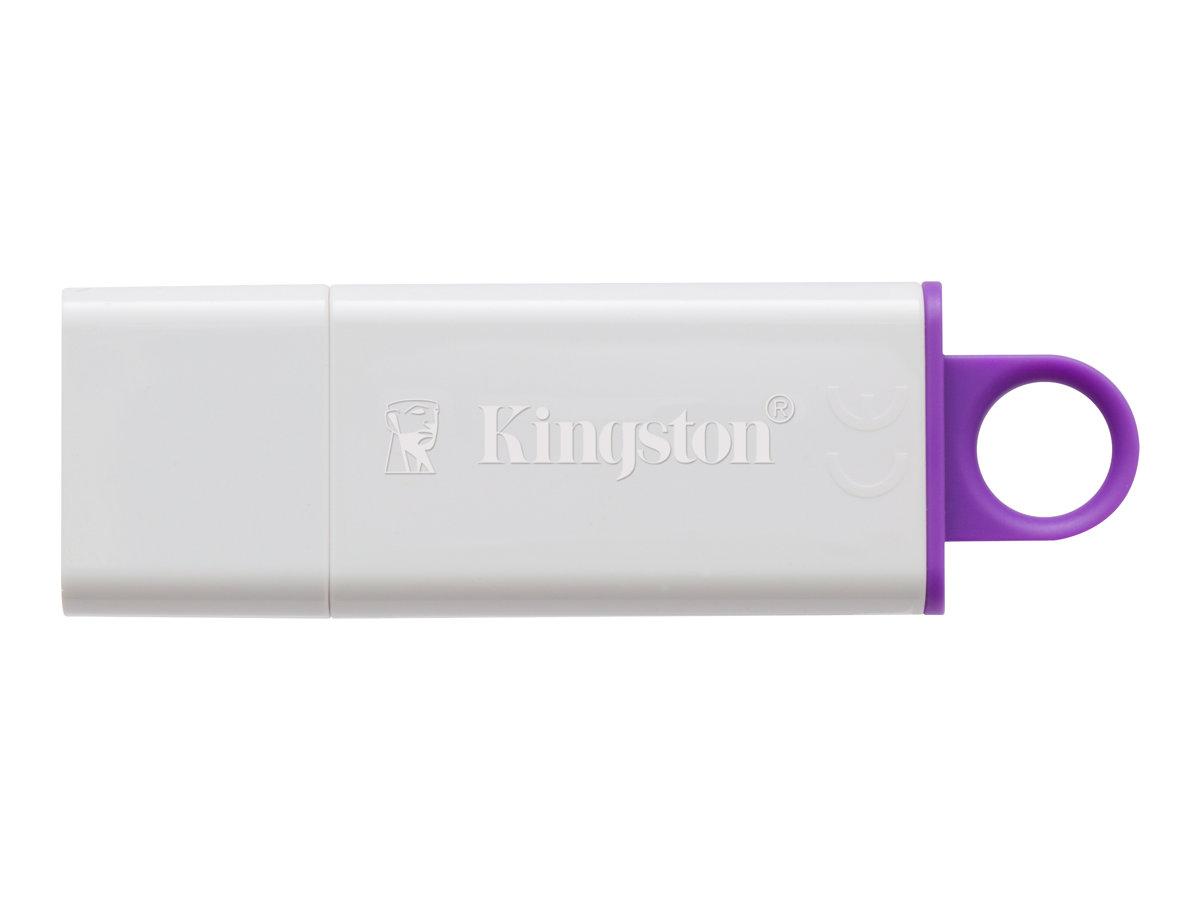 Kingston DataTraveler G4 - USB-Flash-Laufwerk - 64 GB - USB 3.0 - violett