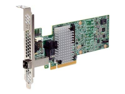 LSI MegaRAID SAS 9380-4i4e - Speichercontroller (RAID) - 8 Sender/Kanal - SATA 6Gb/s / SAS 12Gb/s Low-Profile - 12 Gbit/s - RAID