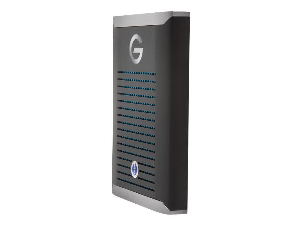 G-Technology G-DRIVE Mobile Pro GDMOPTB3WB5001DBB - Festplatte - 500 GB - extern (tragbar) - Thunderbolt 3 - Schwarz