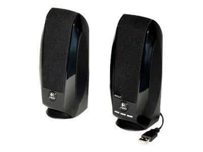 Logitech S150 Digital USB - Lautsprecher - für PC - USB - 1.2 Watt (Gesamt) - Schwarz